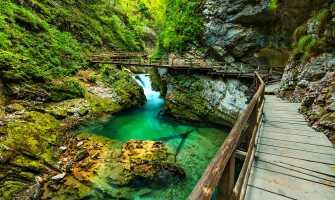 Slovenia byr på kontrastfylte landskaper.