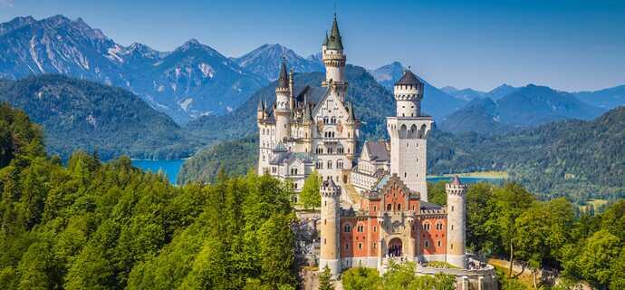 Tag på kør-selv ferie i Tyskland med Risskov Bilferie