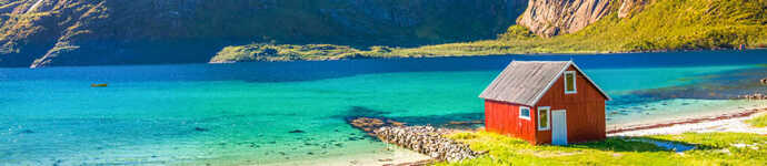 Semester i naturen är den största attraktionen i Norge