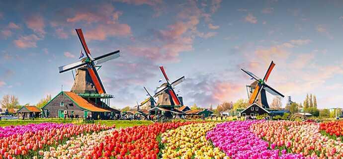 Holland: günstig reisen zum Tiefpreis