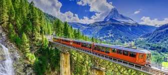 Opplev det flotte alpelandet Sveits.