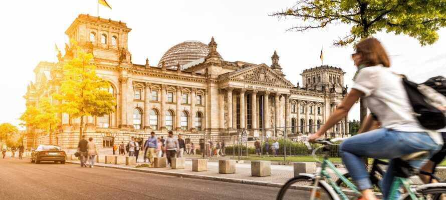 Bo i nærheten av alle de store severdighetene i Berlin med et herlig opphold nær Kurfürstendamm.