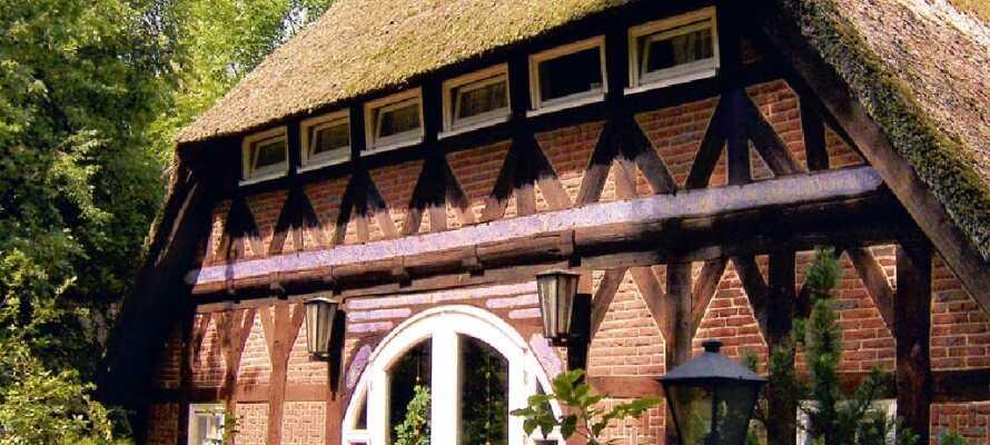 Das Brunnenhof Lüneburger Heide begrüßt Sie in idyllischer Lage im schönen Naturschutzgebiet Lüneburger Heide.