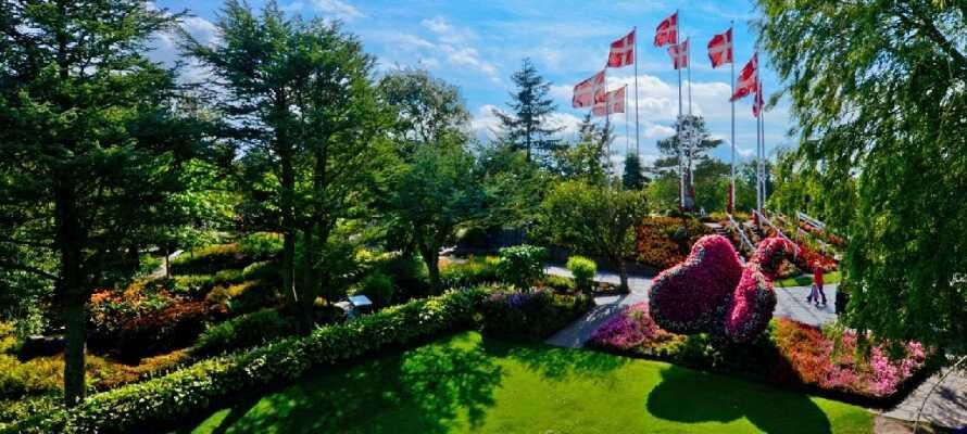 En dag i Jesperhus Blomsterpark er en dag fyldt med sjov både for børn og voksne.