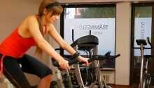 Nutzen Sie den Fitnessbereich des Hotels.