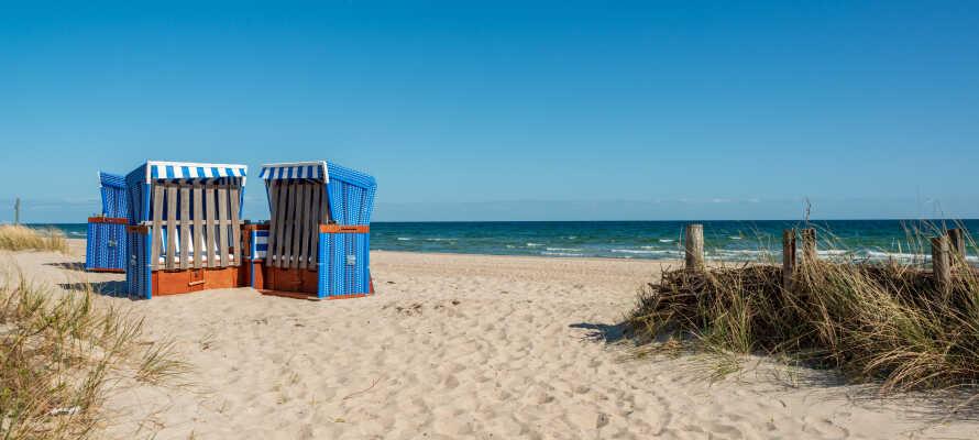 Hotellets placering tæt på stranden gør det oplagt for en sommerferie., men er skøn året rundt.