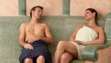 Entspannen und genießen Sie das Leben in der Wellnessabteilung.