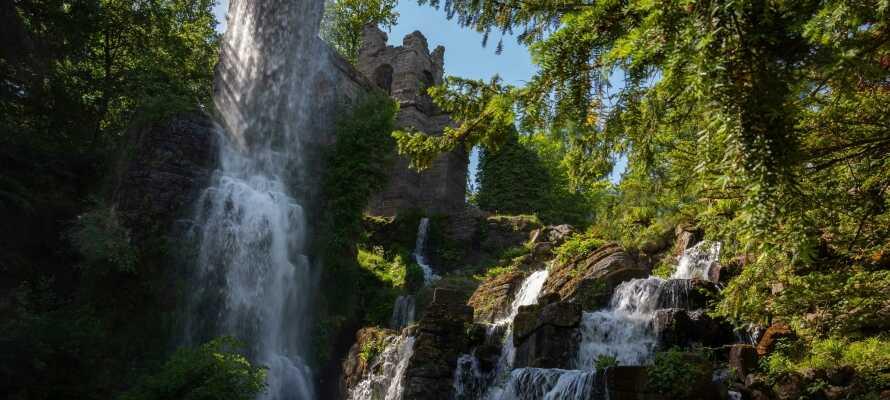 Ta en tur til Kassel og opplev bl.a. Bergpark Wilhelmshöhe - en UNESCO-listet slottspark fra det 18. århundret.