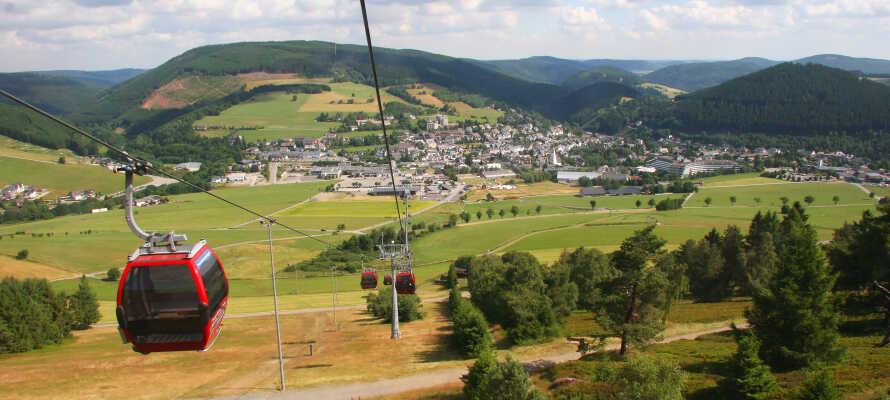 Udforsk den smukke bjergregion med liftture og sightseeing i og omkring Willingen.