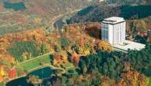 Das Wyndham Garden Lahnstein genießt eine malerische Lage im Rheintal, wo die Lahn in den Rhein mündet.