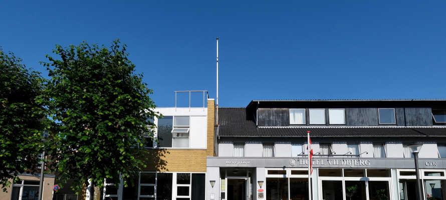 Dette hotellet ligger midt i Vildbjerg, i kort afstand til Midtjyllands mange severdigheter