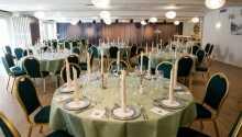 Hotellets restaurant serverer dejlige retter fra det danske køkken