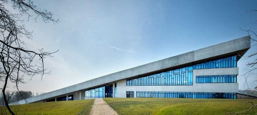 Upplev det eleganta Moesgård Museum och få inblick i kulturhistorien.