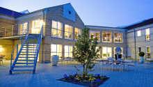 Montra Odder Parkhotel har en god beliggenhed i Odder ca. 20 km. fra Aarhus centrum