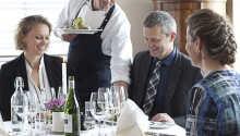 Det stemningsfulde hotel danner ideelle rammer for en miniferie i Østjylland