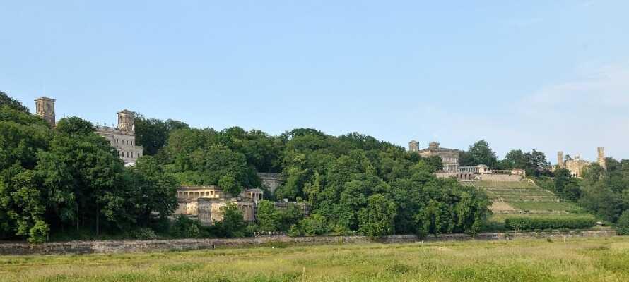 I den østlige delen av Dresden ved Elben finner dere tre slott som ligger side om side, og er vel verdt et besøk.