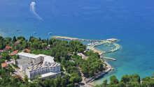 Hotel Malin ligger i den populära kuststaden Malinska i Kroatien.