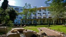 Det flotte hotel set udefra