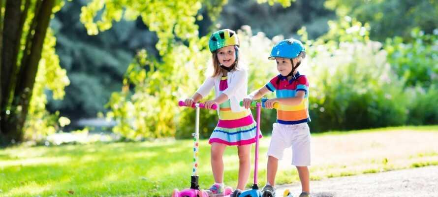 Landhotel Römerhof er att familjevänligt hotell. Under sommarperioden (ca juli, augusti) finns barnklubb.