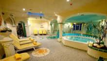 Wellnessområdet omfatter bl.a. sauna og relaxområde