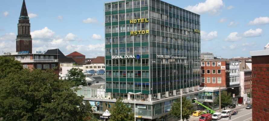 Hotel Astor Kiel by Campanile har en super beliggenhed i centrum af Kiel lige ved byens shoppinggade.