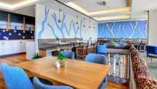 Nyt en deilig middag i hotellets vakre restaurant, som er totalrenovert.