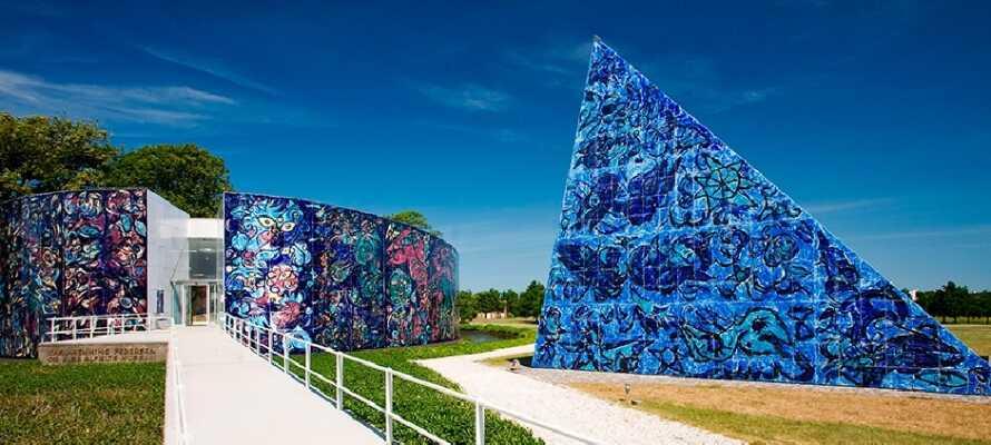 Museumet Carl-Henning Pedersen er kun en av mange kunst og kultur muligheter i Herning.