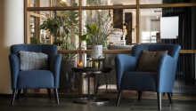 Genießen Sie im modernen Restaurant vom Hotel Medi ein Abendessen
