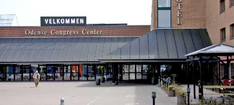 Välkomna till Hotel Odense som ligger precis vid sidan av Odense Congress Center!
