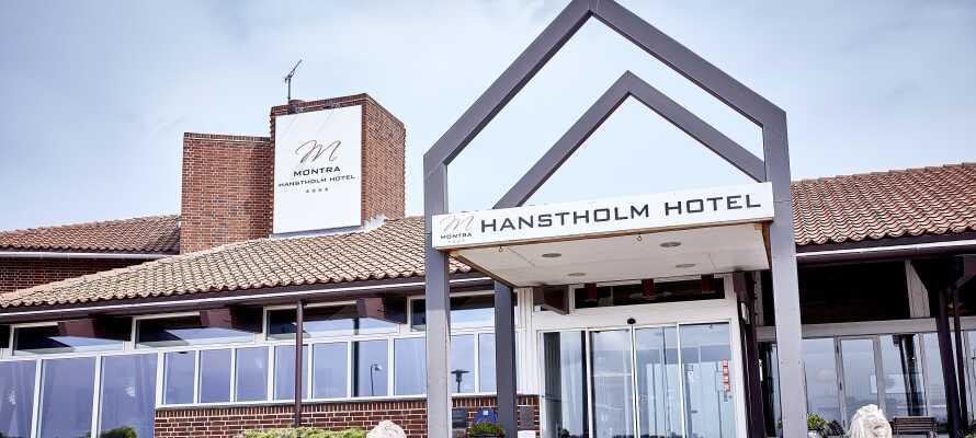 Montra Hotel Hanstholm ligger midt i byen med 15 minutters gang til byens flotte havn.
