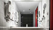 Alle rommene har eget bad med dusj