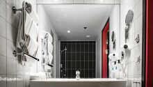 Alle værelser har eget badeværelse med bruser
