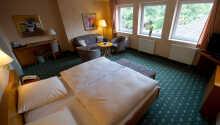 Et eksempel på et av hotellets klassiske dobbeltrom.