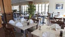 I hotellets restaurang kan ni äta en god middag