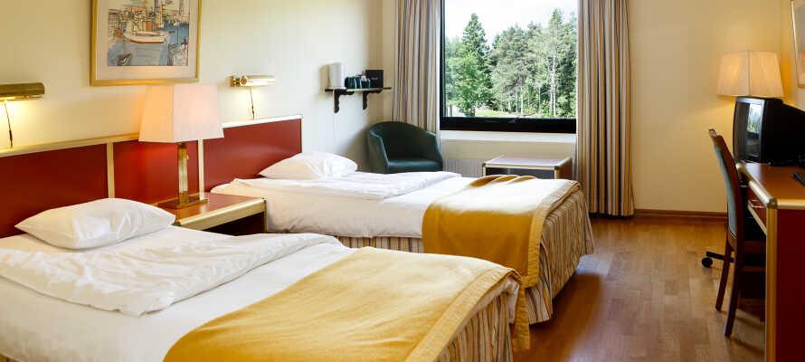Buchen Sie ein günstiges Hotelpaket im First Hotel Billingehus und genießen Sie eine schöne Kombination von Entspannung und Aktivitäten.