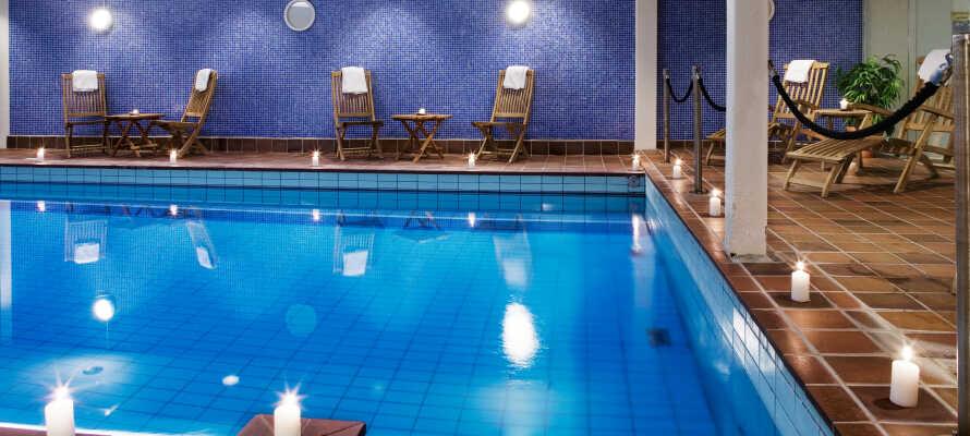 Efter en upplevelserik dag ute i naturen kan ni koppla av inne i hotellets relaxavdelning.