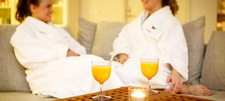 Goda friluftsmöjligheter oavsett årstid som kan kombineras med wellness och välmående på hotellet.