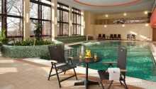 Wellness-afdelingen byder på saltvandspool, lagune med modstrøm og whirlpool, sauna, dampbad, massager, skønhedsbehandlinger og meget mere.