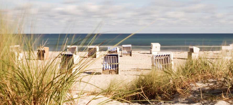 Strandene omkring Schlei eller de skønne Østersøstrande er blot en kort køretur væk.