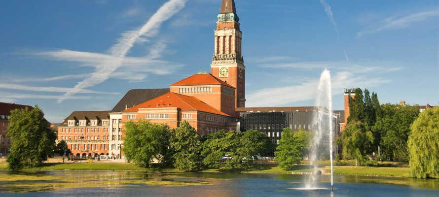 Hotellet har en skøn placering mellem Kiel og Flensborg, som begge ligger indenfor en halv times køretur.
