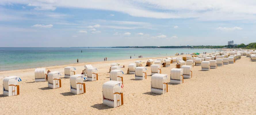 Wenn Sie genug vom Stadtleben haben, statten Sie dem schönen Timmendorfer Strand einen Besuch ab.