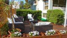 Hotellets terrasse