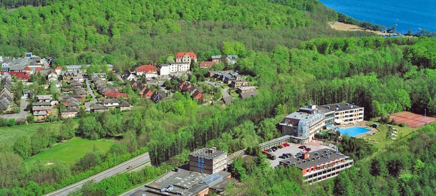Hotel Des Nordens ligger praktiskt beläget, endast 500 meter från den danska gränsen.