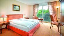 Hotellets rum är ljust och enkelt inredda och är en perfekt bas för att utforska Berlin.