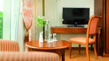 Et eksempel på et af hotellets værelser