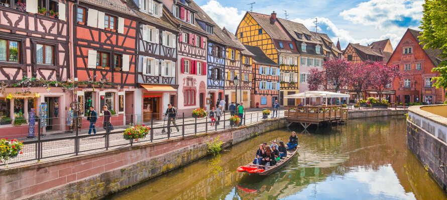 Tag på en dagudflugt til den smukke by, Strasbourg, som byder på masser af historiske og kulturelle oplevelser.