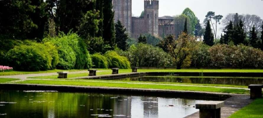 Upplev den imponerande 600.000 kvm stora parken Parco Giardino Sigurtà, som har en stor labyrint.