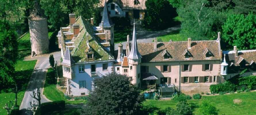 I Turckheim finns det goda promenadmöjligheter med vacker utsikt över staden.