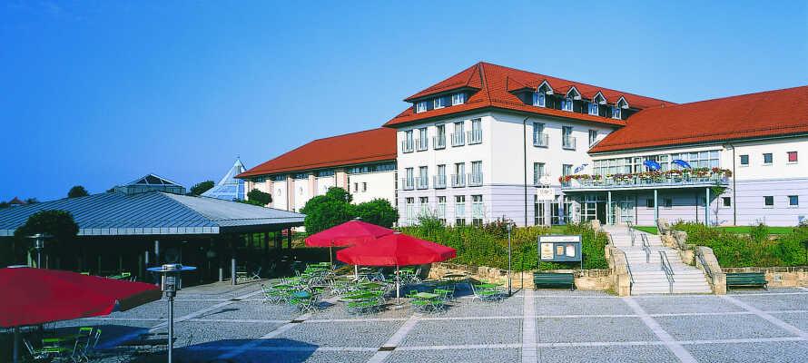 Victor's Residenz Hotel Teistungen er et moderne hotell i rolige omgivelser.