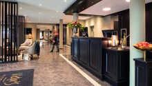 Hotellet er moderne og fornylig renoveret.
